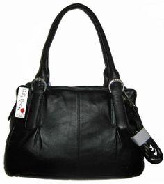f4d79f5d9a85 Holly Rose Sac à main Sac porté épaule en cuir - Noir - Prix de vente  recommandé 126 EUR Prix Promotionnel 75 EUR  Amazon.fr  Chaussures et .