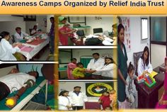 Awareness Camps Organized by Relief India Trust  Relief India Trust http://reliefindiatrust.co.in/ http://reliefindiatrust.in/ D-22, Sector 3, Near Shiv Mandir, Noida (U.P.) - 201301 Speak to Doctor: - + (91)-(120)-4258313