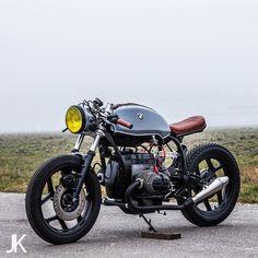 On the Blog: BMW #R80 #caferacer by @arjanvandenboom shot by @jacksonkunis. Link in Profile