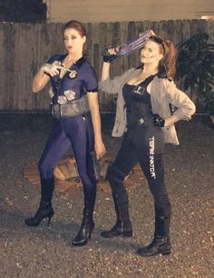 Terminator DIY costume T-800 and T-1000 Halloween