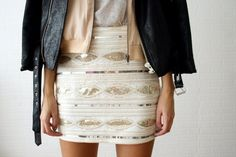 sundance sequin skirt
