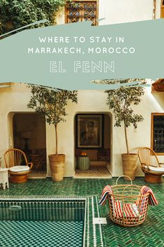 Not sure where to stay in Marrakech? Read on to find out why El Fenn is the ideal boutique hotel stay for your next visit to Morocco.