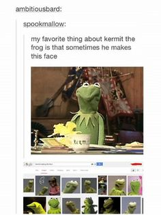 "19 Snappy 'Kermit The Frog' Memes That'll Awaken The Nihilist In You - Funny memes that ""GET IT"" and want you to too. Get the latest funniest memes and keep up what is going on in the meme-o-sphere. Character Maker, Funny Memes, Jokes, You Funny, Funny Stuff, Kermit The Frog, Twisted Humor, Tumblr Posts, Awakening"
