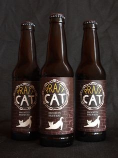 Pratt Cat Beer by Jongwon Lee, via Behance