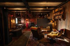 NYC's Clandestine Cabin: The Lodge at Gallow Green