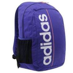 Adidas backpack travel laptop bag gym sport school purple Adidas Co 2aef7fc0b2ba9