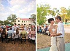 Southern Savannah, Georgia wedding on Tybee Island, Georgia.