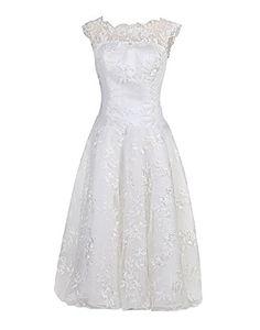 Find Dress Dmen Kurz Brautkleider Standesamt Hochzeitskleider Spitze Weiß FD10018Weiß 48W Find Dress http://www.amazon.de/dp/B016XWBPIO/ref=cm_sw_r_pi_dp_Igetwb18JV73V