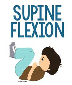 Meatball position/Supine Flexion - Copyright ToolsToGrowOT.com