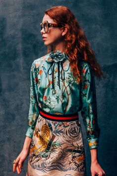Gucci S/S16 - I want this!! I love tigers