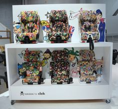 Cleck Tokidoki Special Edition Car Seats and Boosters via @Esther @ buymodernbaby