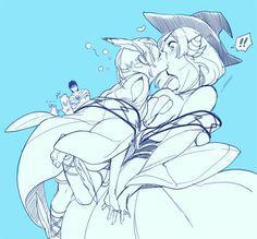 「ヤム〜〜〜♡」AWW THAT'S ADORABLEEEEEEEEEEE!! I mean I ship Spartos/Pisti and Sharrkan/Yamuraiha so hard you would not believe it BUT STILL THAT'S JUST SO CUTEEEE!!!