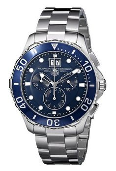 SAVE 23% on a TAG Heuer Men's Aquaracer Blue Dial Watch