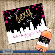 Bachelorette Pary Wine Label, Bachelorette Party Favors, Bachelorette Party Decorations, Mini Wine Labels, Bachelorette Party Weekend