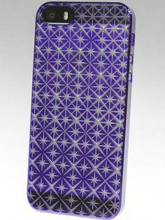 kiriko Shichi Air Jacket. Purple kiriko Air Jacket on a grey iPhone 5.