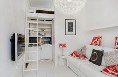 Achados de Decoração, blog de decoração, loja virtual de decoração, decoração de quitinete, decoração moderna de apartamentos pequenos, decoração branca
