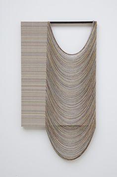 Deconstructed. hand-painted and woven canvas, pine, acrylic | Artist / Künstler: Gabriel Pionkowski |