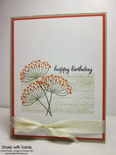 Stamp With Sandy: Summer Sillhouettes for Autumn