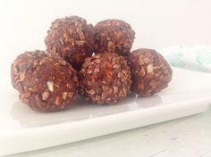 Gezonde brownie ballen || healthy snack