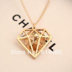 novo recorte imitação de cristal pingente colar colar personalizado vestido jóia acessórios transferência gratuita US $6.99