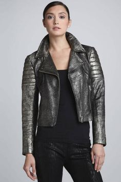 Metallic Fall Fashion Trend - Womens Metallic Clothing and Accessories
