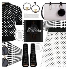 """Polka Dots..."" by sweet-designs ❤ liked on Polyvore featuring Dolce&Gabbana, Michael Kors, Barbara Bui, GUESS, Olsen, Kerr®, Chanel and Anja"