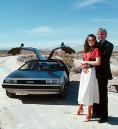 John DeLorean and his wife Cristina Ferrare from March 1979