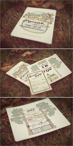 Love colors and style of invite...Mish could pull this off