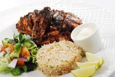 Caribbean Feast & Beer for 2 Bbq Chicken Wings, Bbq Wings, Jerk Chicken, Cheesecake Fruit Salad, Chunky Chips, Curry Goat, Curry Stew, Fishcakes, Rice And Peas
