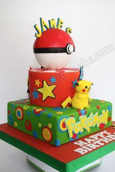 Celebrate with Cake!: Pikachu Pokemon Cake