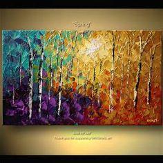 Canvas Tree Art - Bing images