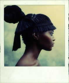 Hair by #OdileGilbert #book Her Style Hair by Odile Gilbert published by 7L Steidl (ISBN 3882439254)