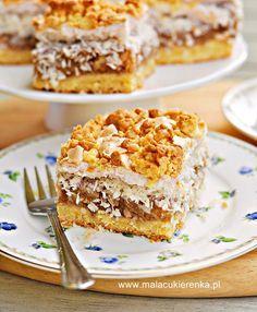 Polish Desserts, Polish Recipes, Polish Food, Cake Recipes, Dessert Recipes, Delicious Deserts, Food Cakes, Banana Bread, Food And Drink