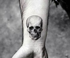 Small Size tattoos are loved by many peoples because these are too tiny and looking very beautiful. Tiny tattoos are now much popular in public. Here we Collected some of the most beautiful tattoos ideas. here take a look for these tattoos. Wrist Tattoos For Guys, Small Tattoos For Guys, Cool Small Tattoos, Small Wrist Tattoos, Mens Wrist Tattoos, Tattoo Guys, Unique Tattoos For Men, Small Skull Tattoo, Unique Small Tattoo