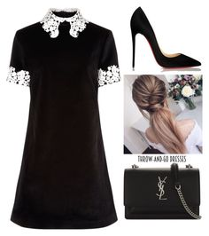 """Untitled #154"" by leajavorova ❤ liked on Polyvore featuring macgraw, Yves Saint Laurent and Christian Louboutin"