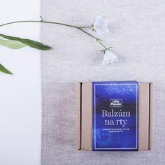 DIY balíček – vyrob si dva balzámy na rty – liskamazana.cz/shop/