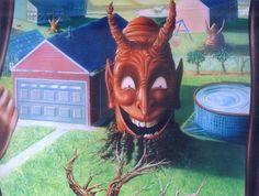 "Saatchi Art Artist Peter Bartczak; Painting, ""devil"" #art"