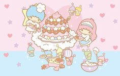 """""""Fun Sharing"""", as collected by toyprincess via Sanrio on 29/12/2012"""