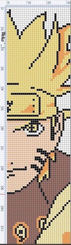 C2c Crochet, Crochet Stitches, Hama Beads, Modele Pixel Art, Anime Pixel Art, Naruto Shippuden Sasuke, Grid Design, Alpha Patterns, Webtoon