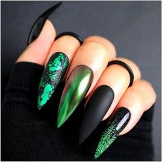 115 nail art decoration with rhinestones and glitter 6 | fashionspecialday.com