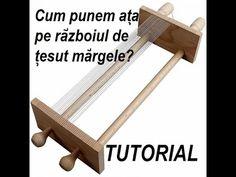 TUTORIAL-Bratara pe razboiul de tesut margele - YouTube