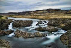 Waterfall Glanni & Paradise Hollow, River Nordura, West Iceland