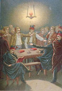 Revealing account of 19th century war of secret societies against the Vatican: http://corjesusacratissimum.org/2014/02/life-pope-pius-ix-carbonari-secret-societies/