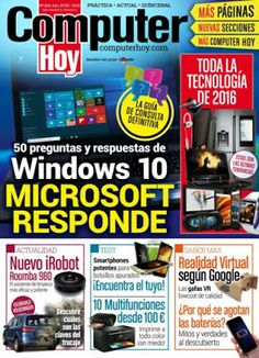 Revistas PDF En Español: Revista Computer Hoy España - 26 Febrero 2016 - PD...