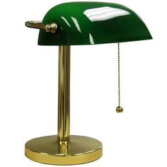 Green Bankers Lamp | Overstock.com Shopping - The Best Deals on Table Lamps