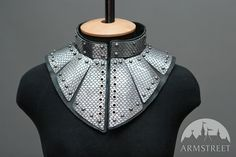 Fantasy armor stainless gorget