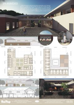 LOFT Studio Arquitetura - Prancha de Apresentação de TCC Arquitetura e Urbanismo - Gabriela Gouveia - Tema: Centro de Retiro Budista e SPA Ayurvédico em São Francisco Xavier - UNIVAP 2018 PRANCHA 04/05 - InDesign - Representação arquitetura