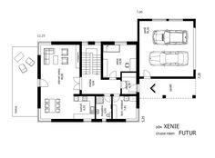 Projekt rodinného domu Xenie výkres.134