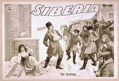 Siberia written by Bartley Campbell. poster