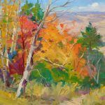 """Fall in High Country - 24"""" x 30"""" - Oil in Canvas - Guido Frick"""